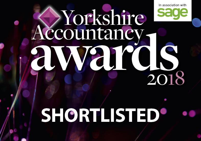 Yorkshire Accounting Awards 2018 Shortlisted